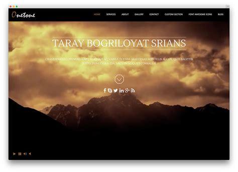 wordpress themes free full width 20 free parallax scrolling wordpress themes 2018 colorlib