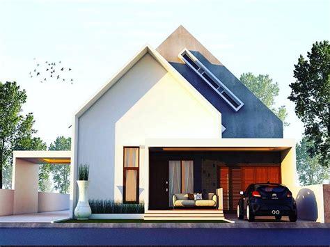 desain rumah minimalis terbaru 1 lantai yang unik tak depan desain rumah minimalist