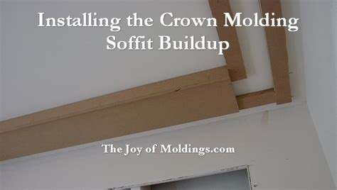 Kitchen Cabinet Trim Moulding How To Build Crown Molding 102 Part 4 Installing The
