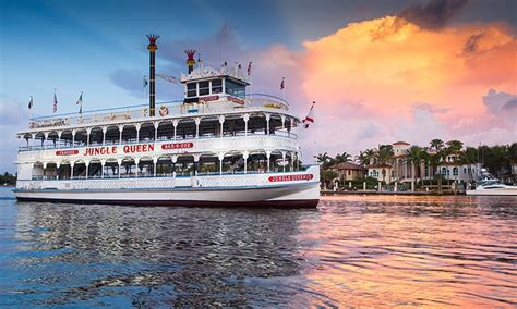 boat ride miami groupon jungle queen riverboat in fort lauderdale fl groupon