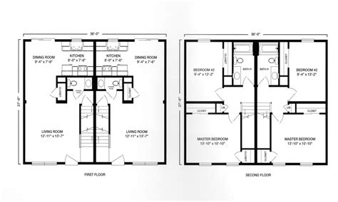 2 story floor plans with garage modular ranch duplex with garage plan modular duplex two