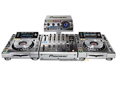 console per dj consolle per dj pioneer pioneer platinum edition dj set