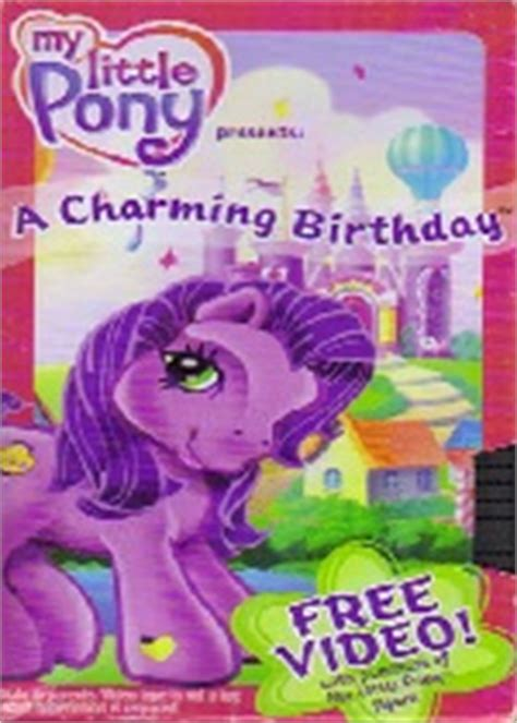 my pony a charming birthday cast images
