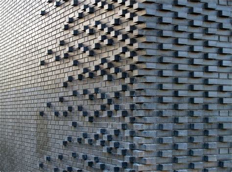 brick pattern mark koehler architects handmade tiles can be colour coordinated and customized