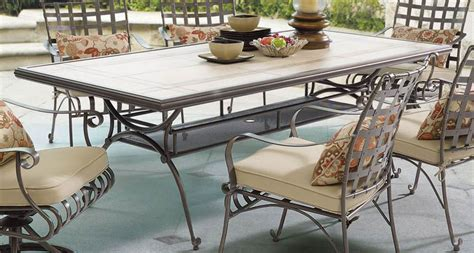 tile top tables patio furniture ceramic tile top table