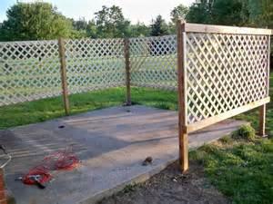 lattice fence lattices and diy patio on