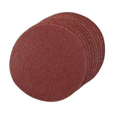 Las Tempel Velcro No 180 10 discos de lijado con sujecci 243 n de velcro 180 mm bt