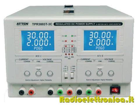 alimentatore duale alimentatore duale da laboratorio atten tvr 3003 3