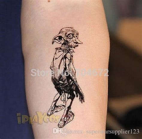 high quality harry potter tattoo dobby temporary tattoo