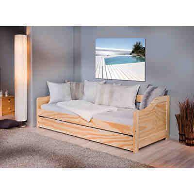 bettdecke jugendbett sofabett mit schubkasten kiesby kiefer massiv natur