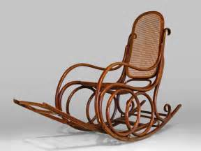 living room brown antique rattan rocking chair with brown bentwood antique rocking chair also