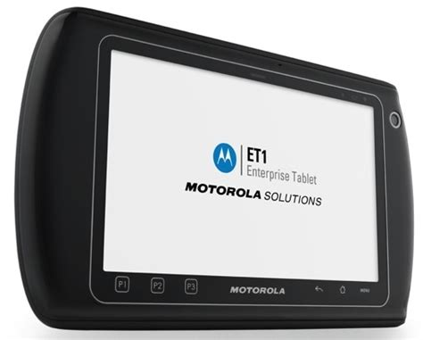 rugged android tablets motorola et1 the rugged android tablet