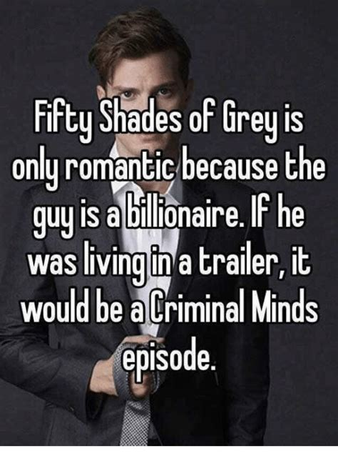 50 Shades Of Gray Meme - 25 best memes about criminal minds criminal minds memes