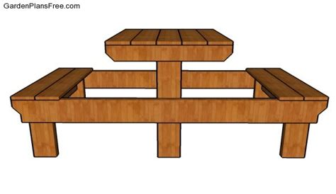 small picnic table plans small picnic table plans free garden plans how to