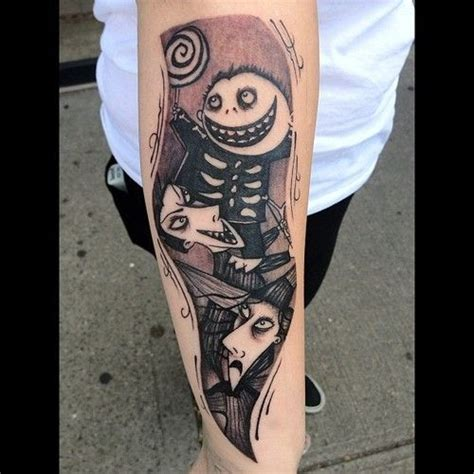 nightmare before christmas tattoo sleeve 1000 ideas about nightmare before on