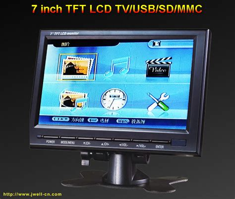 Tv 7 Inch by 7 Lcd Tvugg Stovle