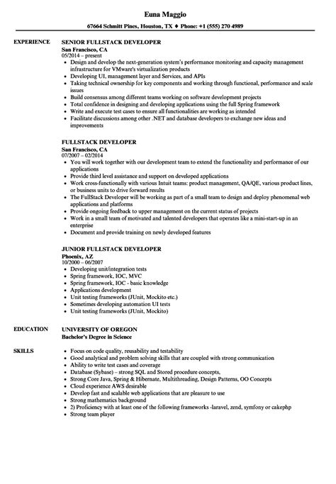 Stack Developer Resume by Stack Developer Resume Oursearchworld
