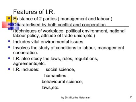 Industrial Relations And Labour Laws Mba Notes by Industrial Relations 26 Trade Union