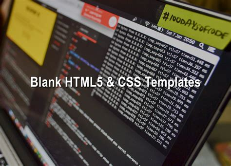 html5 blank page template blank templates html5 css