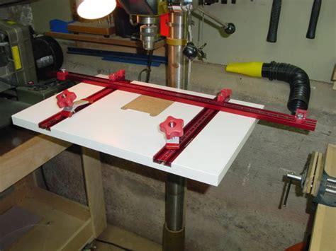 woodpecker drill press table pdf diy woodpeckers drill press table wooden