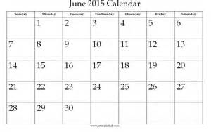 Blank June Calendar 2015 June 2015 Calendar Printable Gameshacksfree