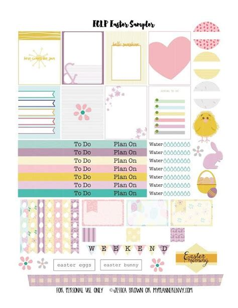 free printable easter planner 439 best planner stickers images on pinterest planner