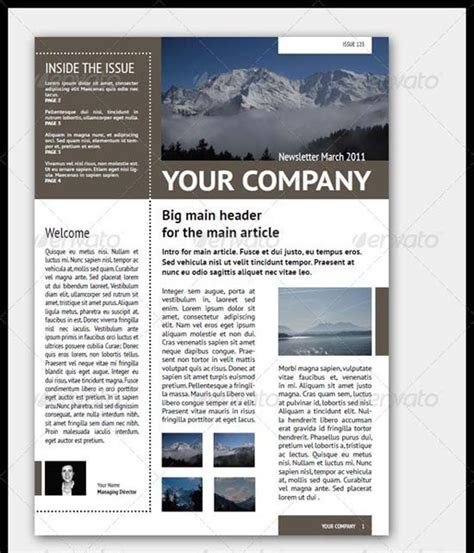 35 Effective And Creative Email Newsletter Designs Inspiration Pinterest Projekte Effective Newsletter Templates