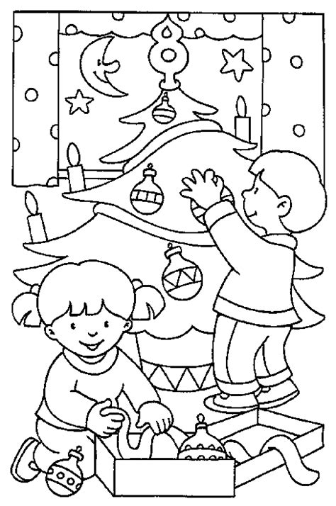 Plants And Trees Free Coloring Pages Decorate A Tree Coloring Page