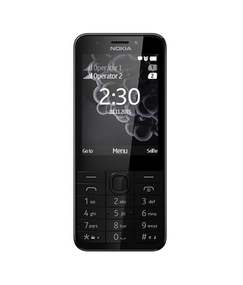 nokia mobile low price nokia 230 silver feature phone at low
