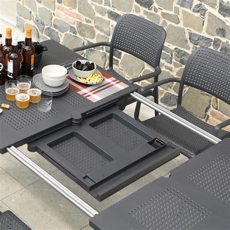 tavoli da terrazzo allungabili tavolo da giardino libeccio nardi