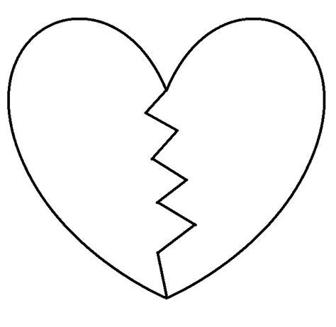 broken heart coloring page broken heart coloring pages murderthestout