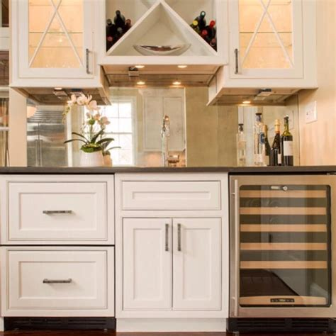 Stainless Steel Wet Bar Full Integrated Or Stainless Steel Which Do You Prefer In