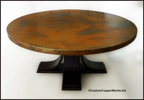 wood pedestal dining table bases large copper top dining table oak wood pedestal