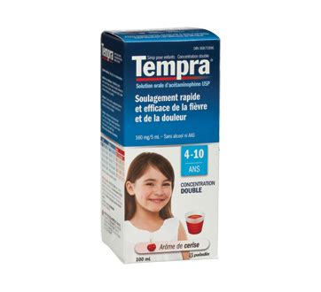 Tempra Syrup 100ml strength children s syrup 160 mg 5 ml 100 ml