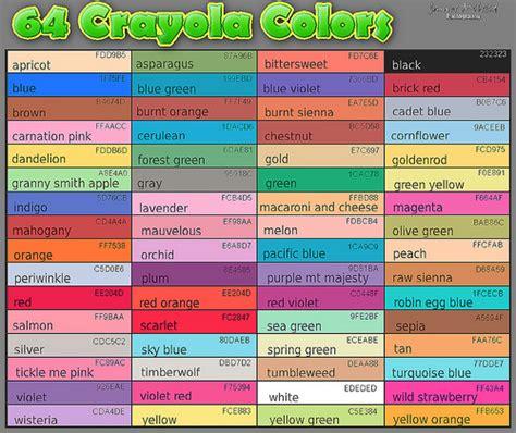 crayola color list 5103837707 b6aa68a7fc z jpg