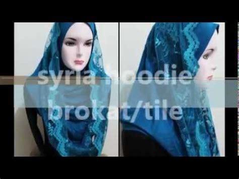 Jilbab Instant Hoodie Syria Hoodie Kaos Brokat Tile Jilbab Instant
