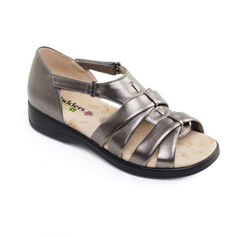pewter sandals padders horizon womens pewter sandals free returns at