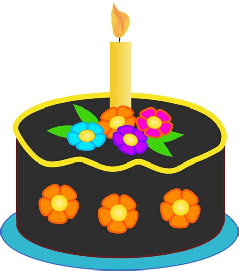 Pictures of birthday cake and balloons clipart best