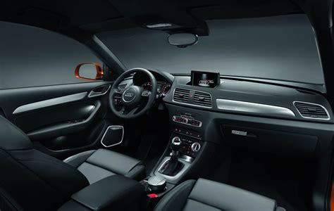 K Line Interiors by 2012 Audi Q3 Black S Line Interior Dashboard Eurocar News