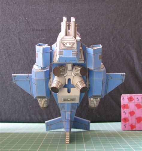 Space Papercraft - warhammer space marine stormtalon papercraft by