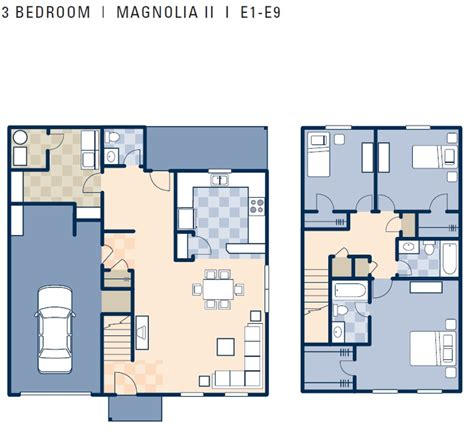 3 bedroom duplex floor plans ncbc gulfport magnolia ii neighborhood 3 bedroom duplex