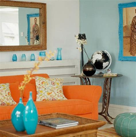what colors go with orange how to combine colors in the interior decor advisor