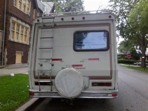 1984 rv ford cutaway van motorhome econoline 350 v8 7 5l 260 rdb mobile traveler 1984 rv ford cutaway van motorhome econoline 350 v8 7 5l 260 rdb travel trailer