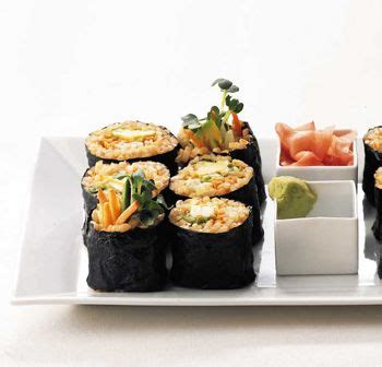 futon roll sushi 1000 ideas about brown rice sushi on sushi
