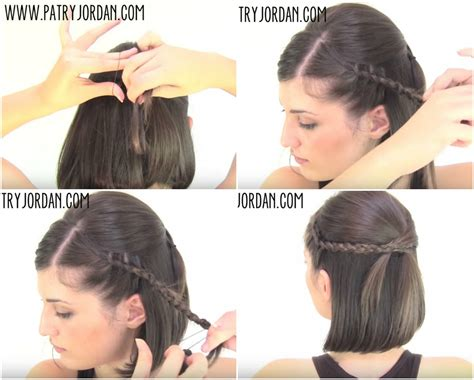 hairstyles for curly medium hair step by step video hair tutorial 4 chic sassy easy hairstyles for