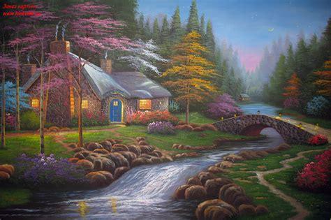 kinkade twilight cottage twilight cottage kinkade