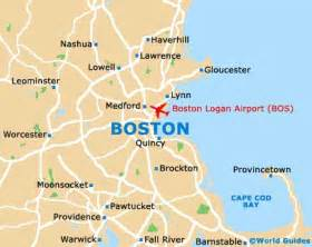 usa map with boston boston maps and orientation boston massachusetts ma usa