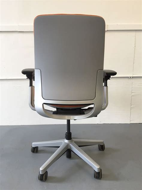 steelcase desk chair steelcase amia task chair orange c61155c conklin office furniture