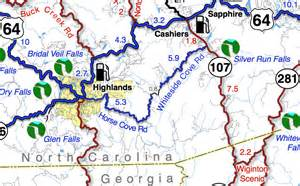 great blue ridge motorcycle ride near highlands nc travel