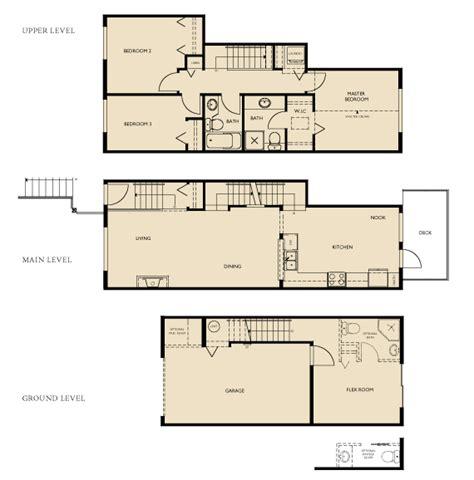 Three Story Townhouse Plans by Three Story Townhouse Floor Plans Gurus Floor